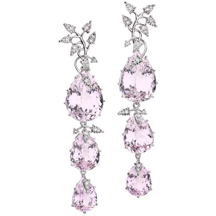 de product france satya nova hanging amethyst rose earrings super center