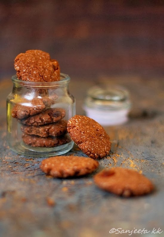 Three Healthy Wholegrain Cookies