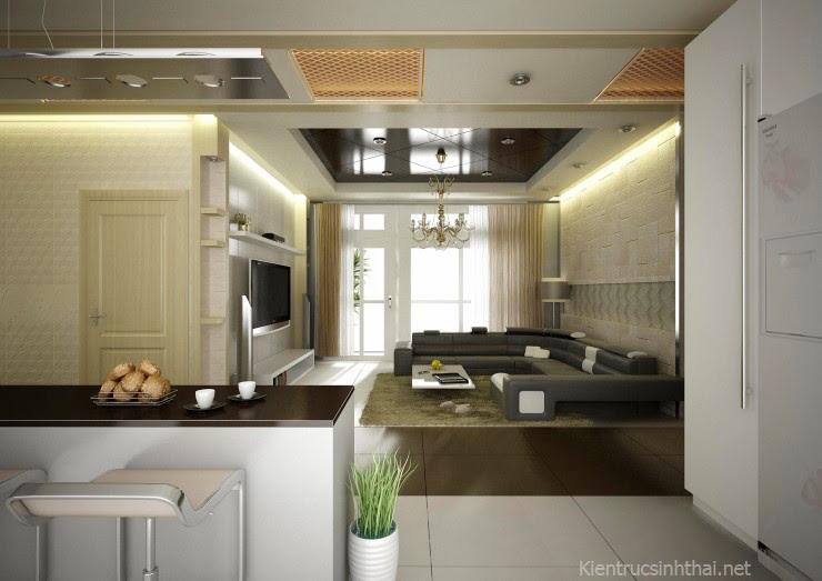 Phòng khách bếp