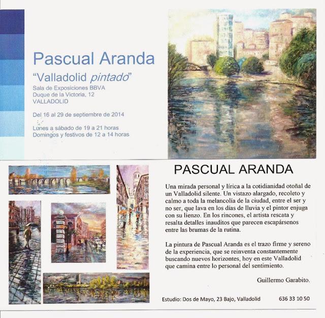 Exposición de pinturas de pascual Aranda en el BBVA