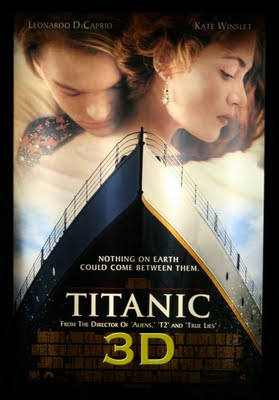 Titanic movie in 3D 2012