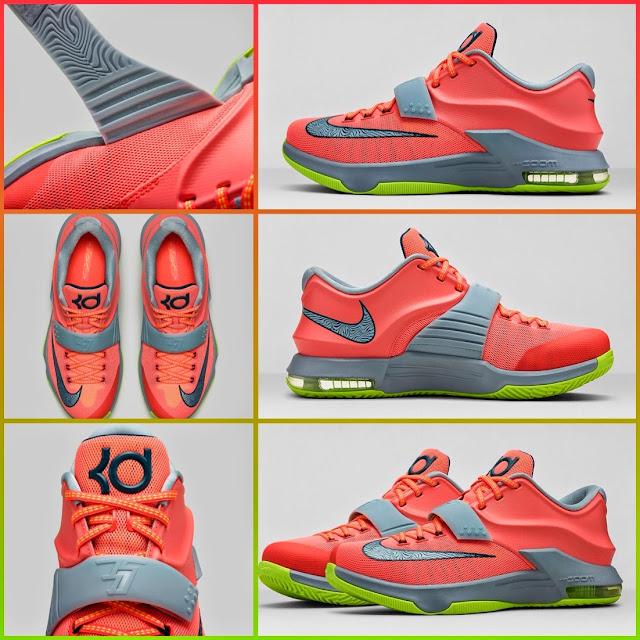 Kd 7 35k Degrees On Feet KD 7 by Nike - ...