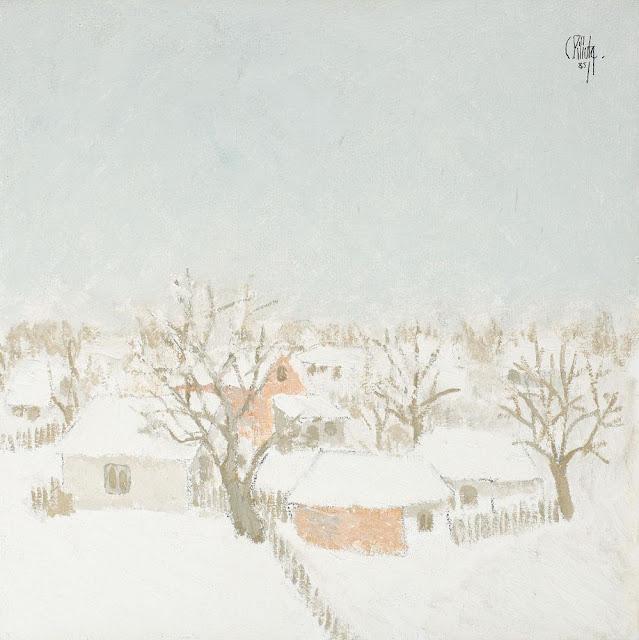Constantin Piliuță - Iarna copilăriei
