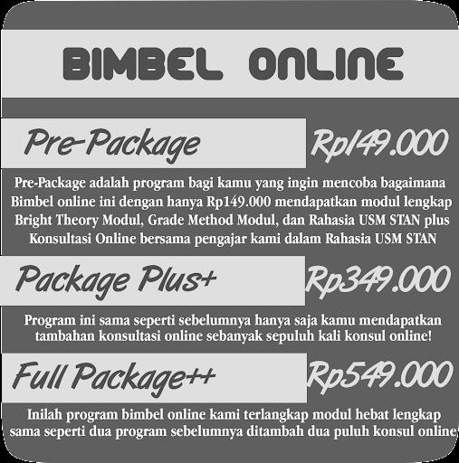 Bimbel Online STAN