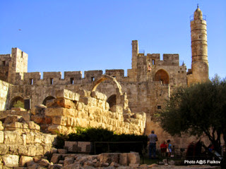 Башня Давида. Обзорная экскурсия Иерусалим трех религий. Гид в Иерусалиме Светлана Фиалкова.