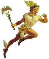 Θεός Ερμής,αγγελιοφόρος Θεός,ταξιδευτής των ψυχών,Θησέας συνάντηση,God Ermis,God messenger,traveller of the souls,Theseus meeting