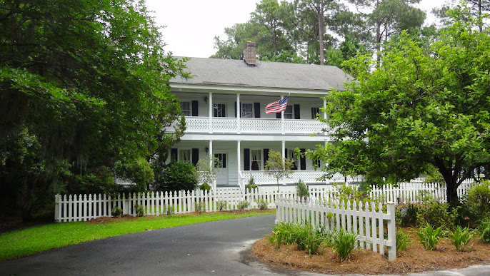 Historic Reinhard House, Savannah Botanical Garden