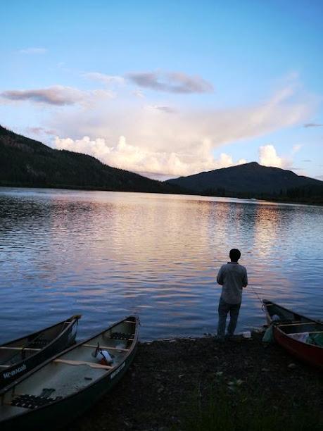 達人帶路-環遊世界-育空河夜釣