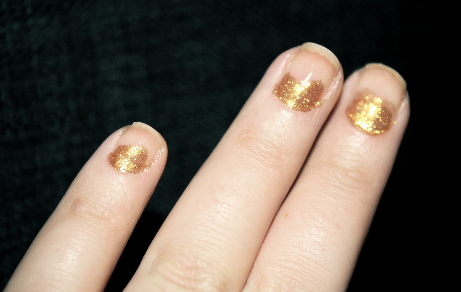 a million dresses | UK Fashion and Lifestyle Blog: Half Moon Nail ...