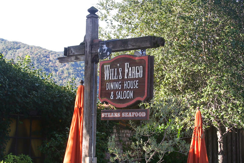 Will's Fargo dining, at Holman Ranch