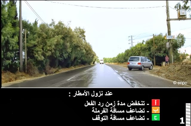 enpc code de la route tunisie