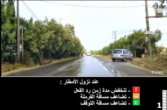 test permis de conduire tunisien 2014 auto ecole en line. Black Bedroom Furniture Sets. Home Design Ideas