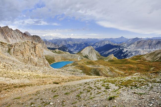 Traversée des Alpes, du lac Léman à la Méditerranée Gr5-briancon-mediterranee-col-girardin-lac-saint-anne