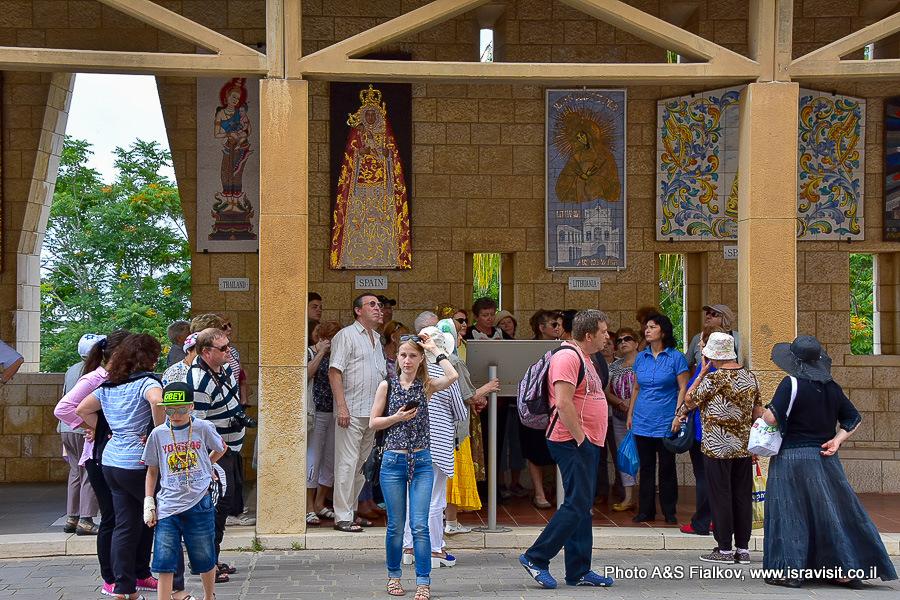 Экскурсия Светланы Фиалковой в Храме Благовещения в Назарете.