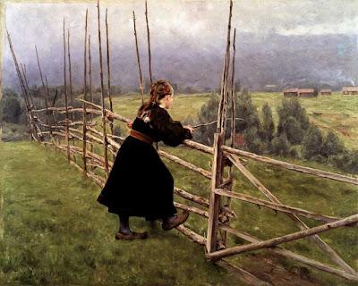 Karl Nordström - On the Plain