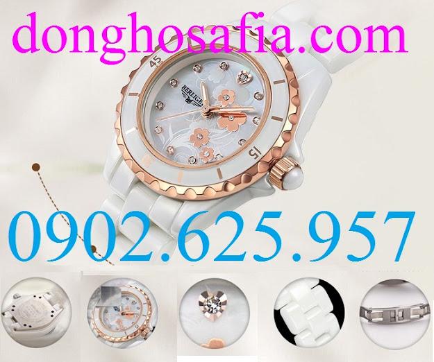 Đồng hồ nữ cơ Berliget 830