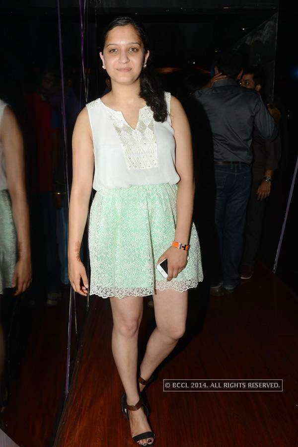 Aliya during a party at Illusions, in Chennai.