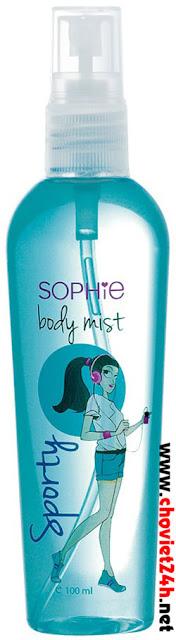 Nước xịt mùi cơ thể Sophie - BMST3