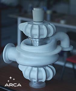 ARCA a finalizat matriţele turbopompei motorului Executor