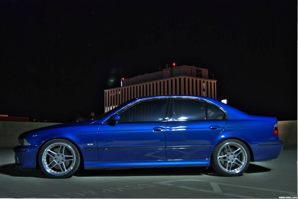 Bmw Automobiles Bmw E39 M5 Lemans Blue