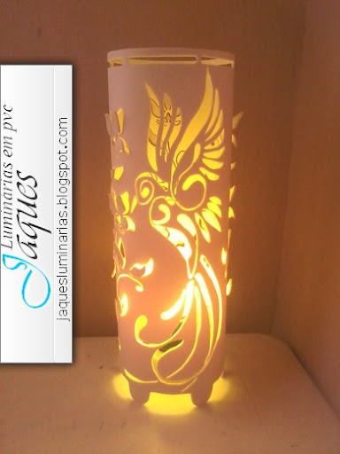 luminaria-de-pvc-beija-flor
