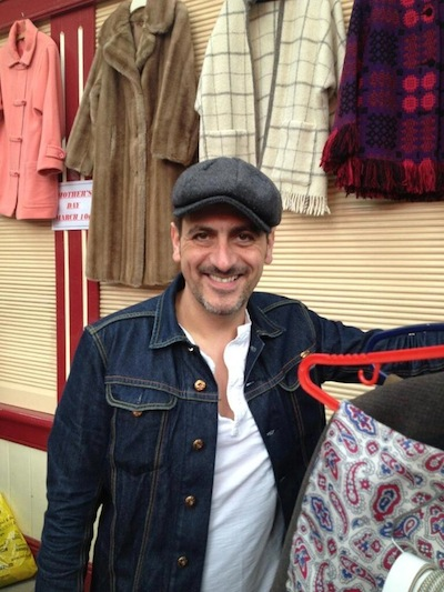 Aileen Jones - actor Chris Gascoyne (Peter Barlow on Corrie).