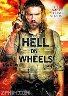 Bánh Xe Địa Ngục 2 - Hell On Wheels Season 2 (2012) Poster