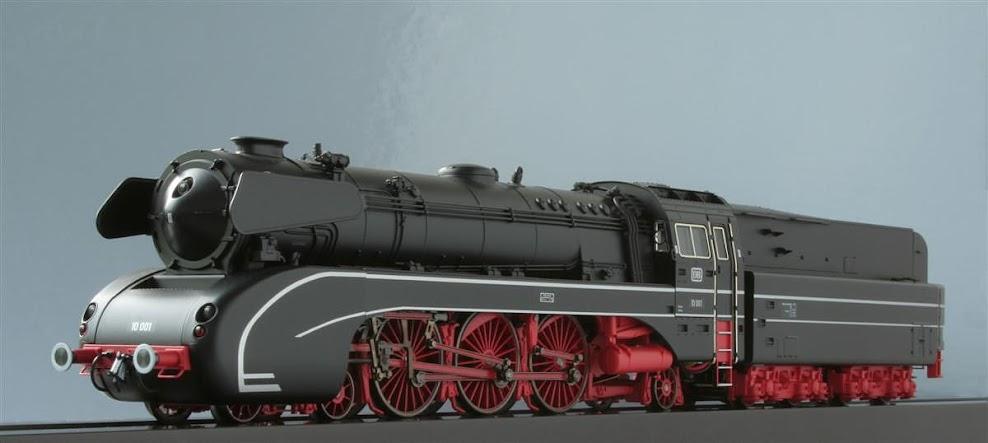 Modeli parnih lokomotiva DRG T22705