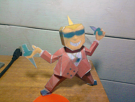 EarthBound Frank Fly Papercraft