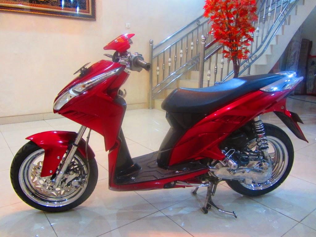 Download Modifikasi Motor Vario 110 Touring Terupdate Velgy Motor