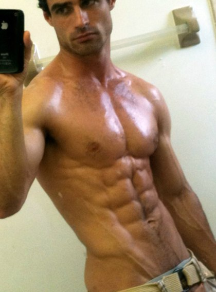 Muscular Jocks Take Self Pictures Photos Set 10