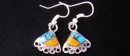 ED-2-024 | Stone Mosaic Earrings **