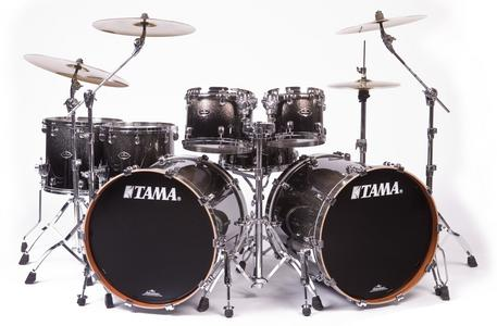 The Third And Final Is Tama Rockstar Kit Generally Kits Are Used For Heavier Music Such As Metal Lars Ulrich Drummer From Metallica