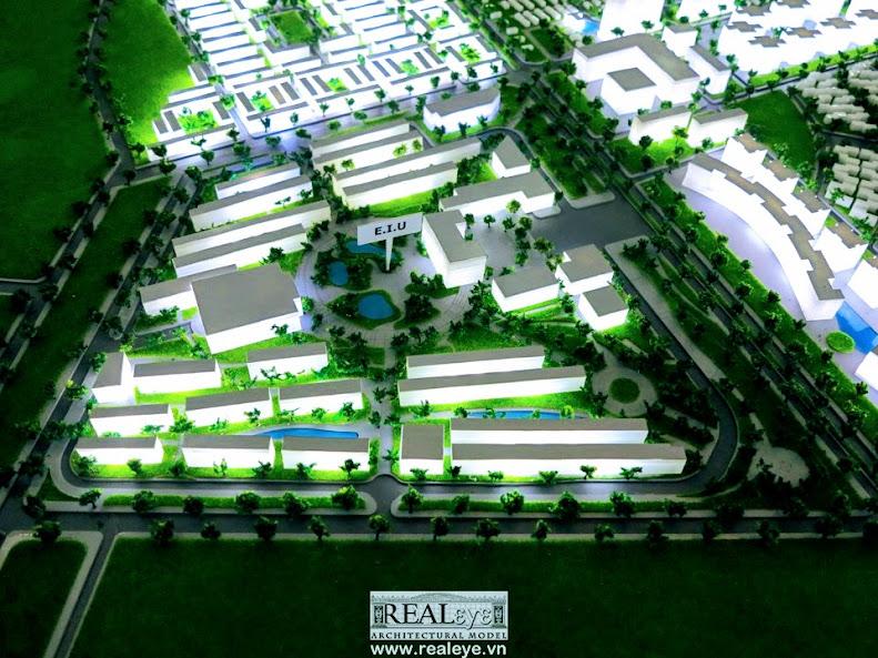 Mô hình kiến trúc REALEYE - Trường Đại Học Quốc Tế miền Đông