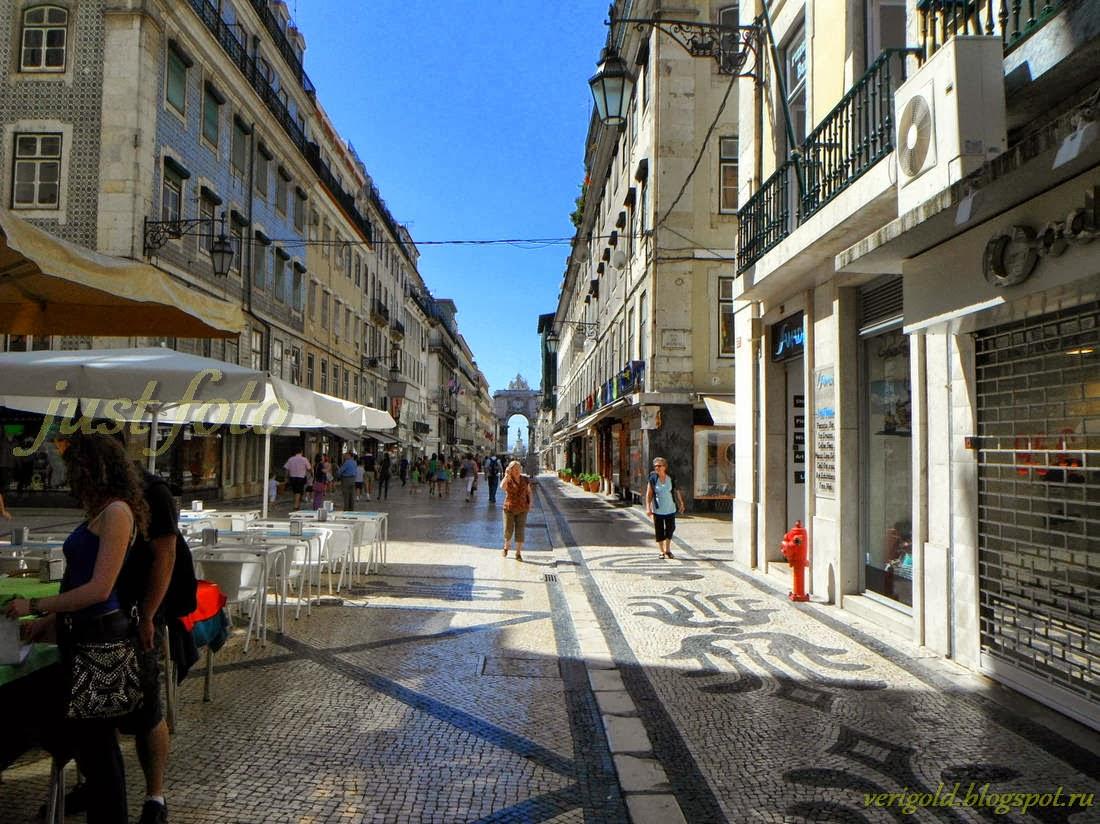Шопинг в Лиссабоне - магазины Руа Аугуста