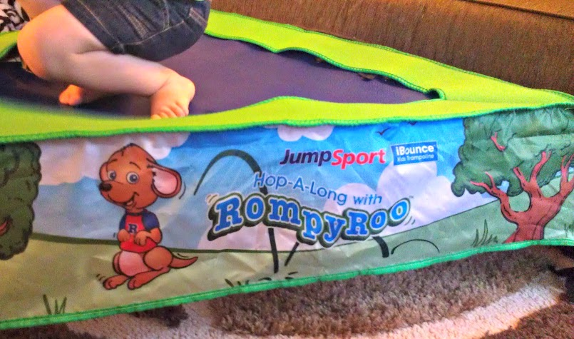 JumpSport iBounce Trampoline for Kids