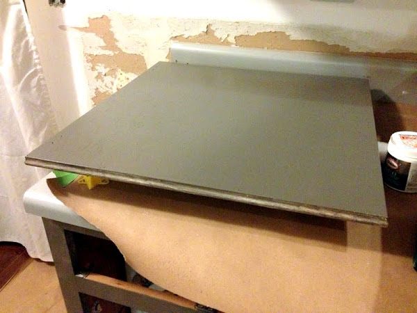second coat cabinet paint