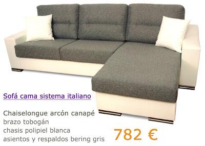 Precios de sofa cama for Precio de sofa cama