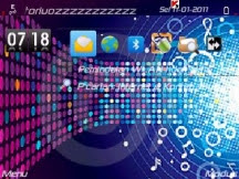 soudofmusic1 Free Download Themes Android for Nokia Symbian S60v3