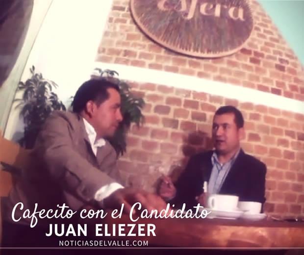 Cafecito con el Candidato - Dr. Juan Eliezer - UNE