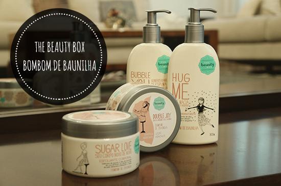 The Beauty Box | Banho Bombom de Baunilha