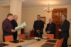 Juramento de los nuevos oficios del Tribunal Eclesiástico