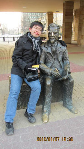 我和波蘭老爺爺是好partner