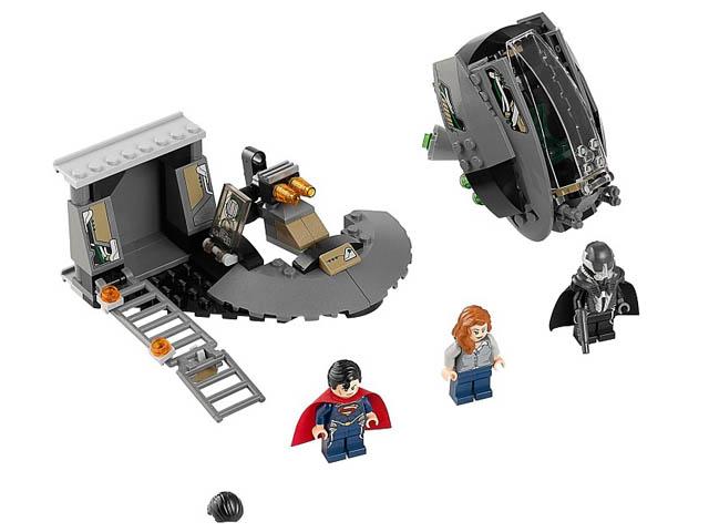 レゴ スーパーヒーローズ スーパーマンTM:ブラックゼロ・エスケープ 76009