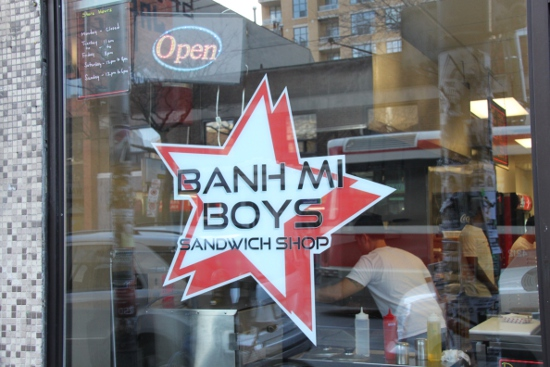 Banh Mi Boys has opened at Queen and Spadina.