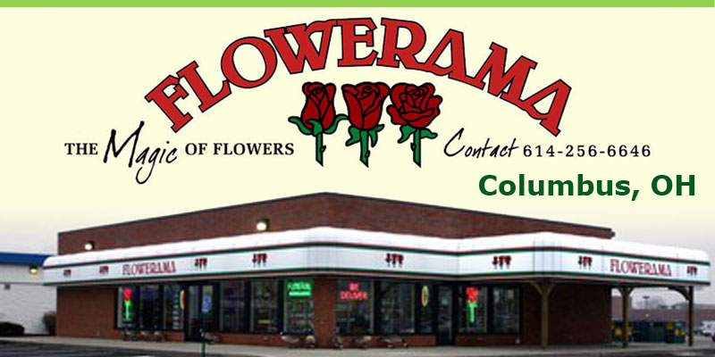 Flowers Columbus Ohio Flowerama Logo