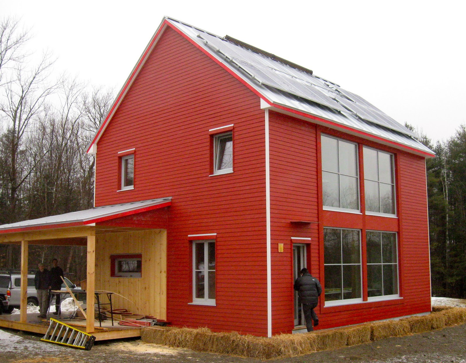 Martinkeanepass belfast passive house construction for Building a house in maine