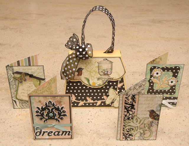 Girly Gift Card Set