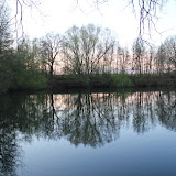 Abenddämmerung über dem Heipker See
