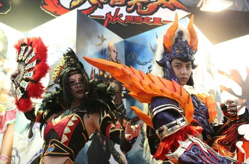 Những bộ ảnh cosplay ấn tượng tại Chinajoy 2012 15